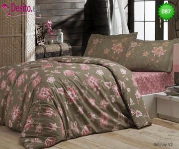 Семеен спален комплект с два плика 087 Belinay