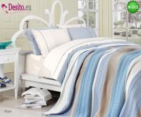 Спален комплект с плетено одеало N-215