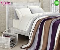Спален комплект с плетено одеало N-213