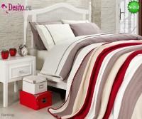 Спален комплект с плетено одеало N-212