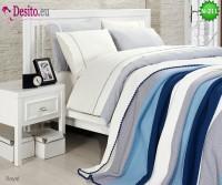 Спален комплект с плетено одеало N-211
