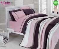 Спален комплект с плетено одеало N-204