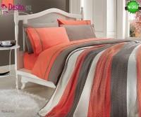 Спален комплект с плетено одеало N-202