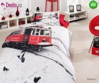 3D Единичен спален комплект B10 Isnbul