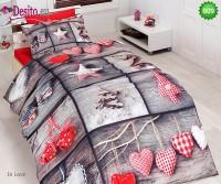 3D Единичен спален комплект B09 In Love