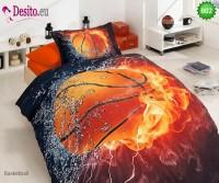 3D Единичен спален комплект B02 Basketball
