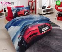 3D Единичен спален комплект B01 Angle