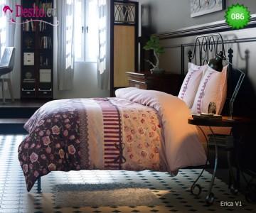 Семеен спален комплект с два плика 086 Erica V1