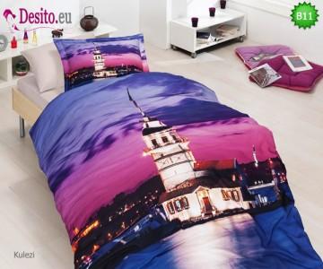 3D Единичен спален комплект B11 Kulezi