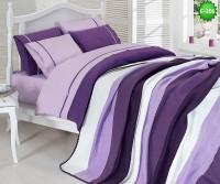 Двулицево единично спално бельо с одеало Е-206