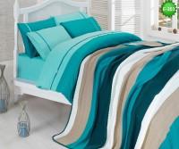 Двулицево единично спално бельо с одеало Е-203
