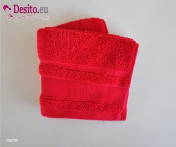 Хавлиени кърпи Мика - червено