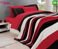 Спален комплект с плетено одеало N-207