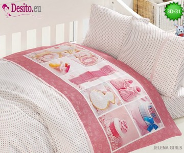 Детско спално бельо 3D-31