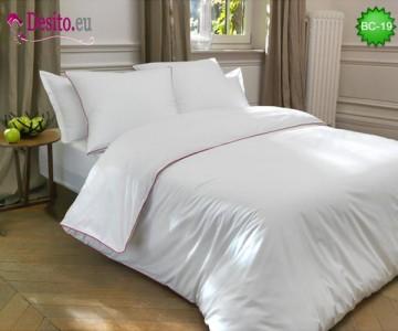 Бяло спално бельо BC-19