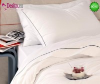 Бяло спално бельо BC-07