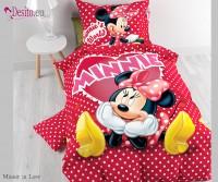 Единично сплано бельо Minnie in Love