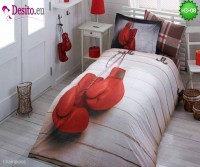 3D Единично спално бельо H3-08