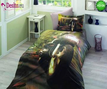 3D Единично спално бельо H3-06