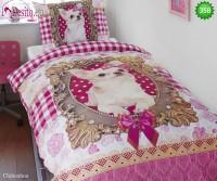 Единично сплано бельо Chihuahua - Roze 358