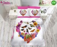 3D Спално бельо от памучен сатен - G-30