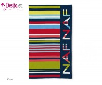 Плажна кърпа Naf Naf - Code