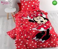 Единично сплано бельо Minnie Mouse 371