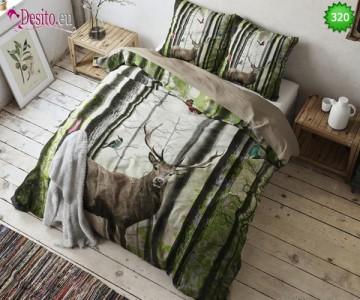 Двойно Спално бельо с елен 320