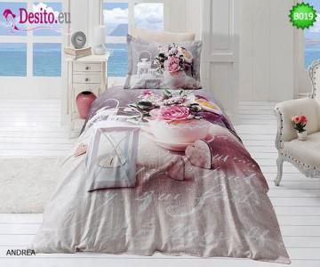 3D Единичен спален комплект B019 Andrea