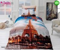 3D Единичен спален комплект B029 Paris City