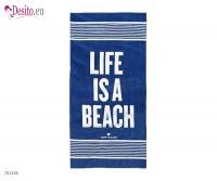 Плажна кърпа Tom Tailor - Navy 2