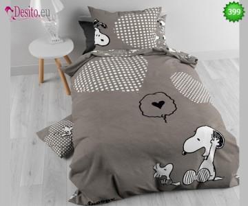 Единично спално бельо Snoopy 399