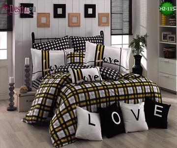 Спално бельо от Поплин H2-115