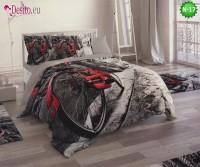 3D Спално бельо от памучен сатен - N-17
