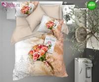 3D спално бельо от памучен сатен 3D-07