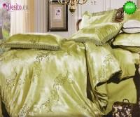 Луксозно спално бельо от памук-сатен с жакард 10-97