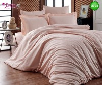 Луксозно спално бельо от памук-сатен с жакард JS-03