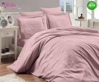 Луксозно спално бельо от памук-сатен с жакард JS-15