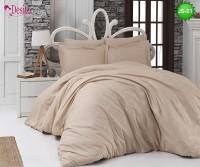 Луксозно спално бельо от памук-сатен с жакард JS-21