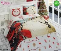 3D спално бельо от памучен сатен SA-02