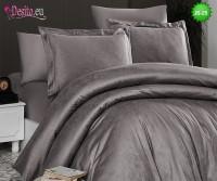 Луксозно спално бельо от памук-сатен с жакард JS-25