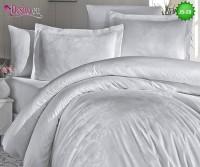 Луксозно спално бельо от памук-сатен с жакард JS-29