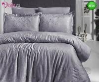 Луксозно спално бельо от памук-сатен с жакард JS-35
