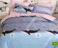 Единично спално бельо с код Y-4