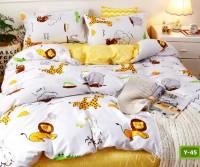 Единично спално бельо с код Y-45