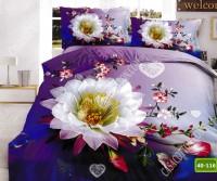 5D спално бельо с код 40-116