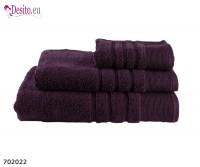 Хавлиени кърпи Мика - тъмно лилаво 2