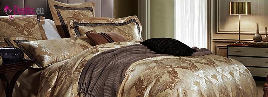 Луксозно спално бельо