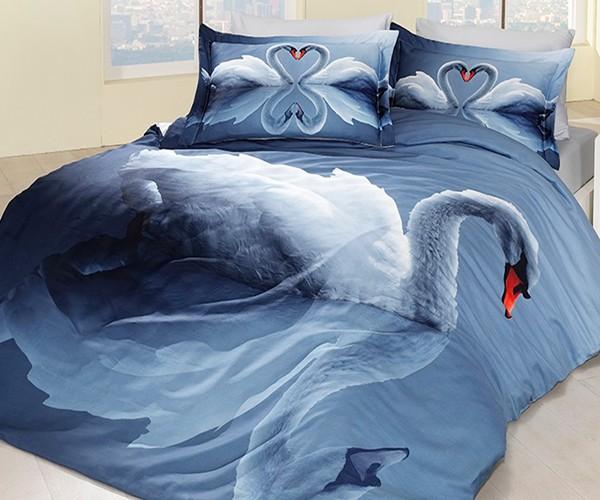 Какво представлява спалното бельо с 3D ефект?