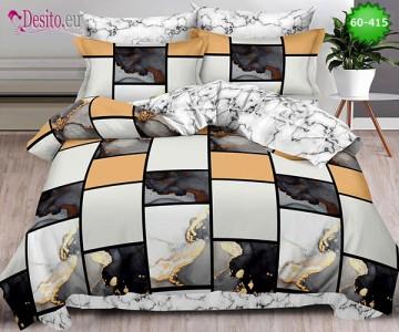 Спално бельо от 100% памук, 6 части, двулицево с код 60-415
